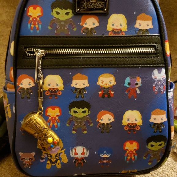 Loungefly Handbags - Loungefly avengers back pack with keychain!